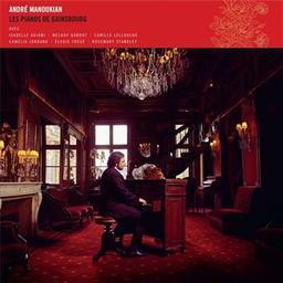 Les pianos de Gainsbourg / André Manoukian    Manoukian, André
